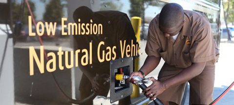 UPS now bets not on CNG, LNG, but RNG