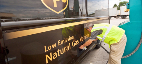 UPS to buy 1400 NGVs in USA