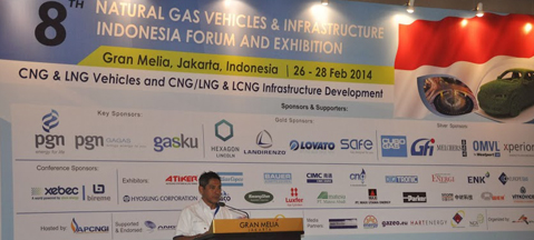 9th NGV & Infrastructure Indonesia Forum 2015