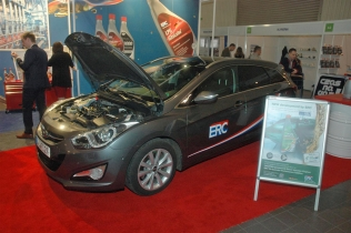 Hyundai i40 CW with an LPG system and ERC valve saver kit