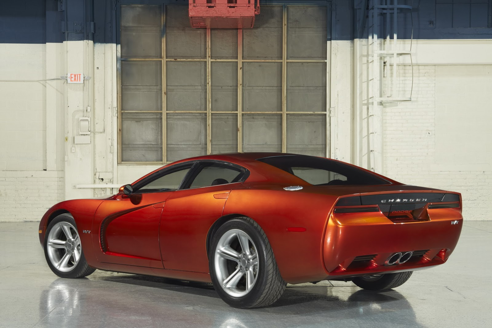 Dodge dodge charger with wing : Dodge Charger Concept - CNG that never was | gazeo.com