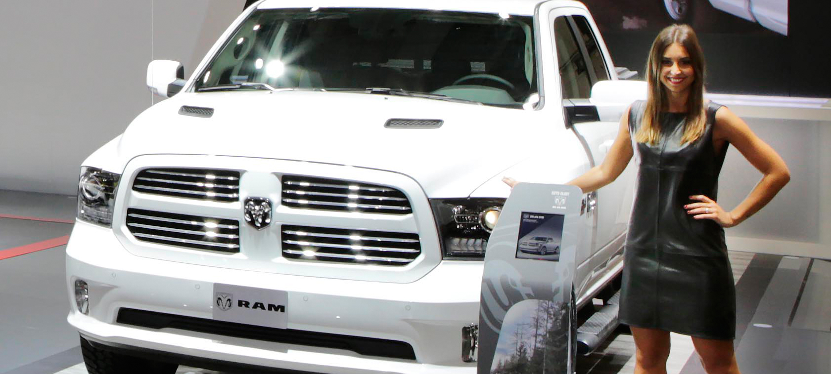 Ram 1500 Quad Cab Sport LPG - double debut