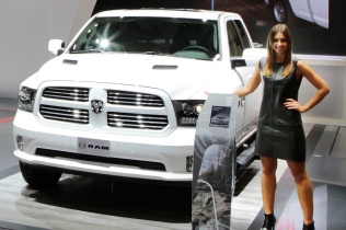 Ram 1500 Quad Cab Sport at the IAA 2016 in Hanover