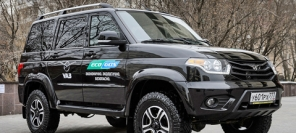 UAZ Patriot CNG - methane goes places