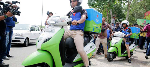 CNG scooters to conquer India?