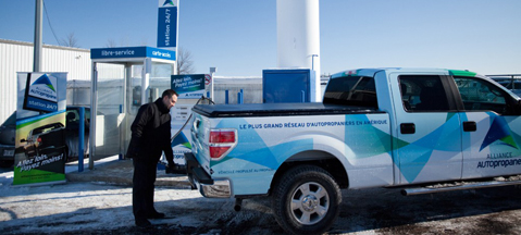Ford buyers in Canada get LPG option