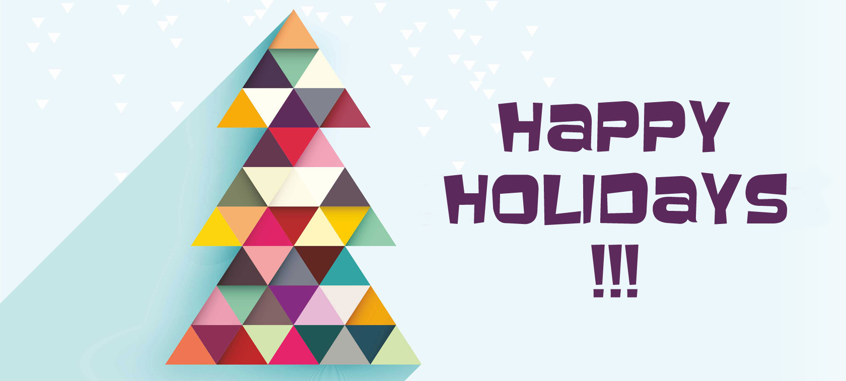 Happy Holidays and a year of success!