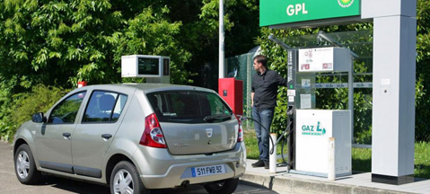 Park for free with autogas in France