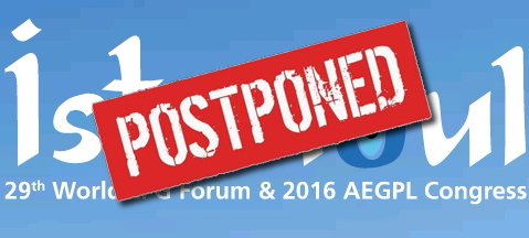 World LPG Forum and AEGPL Congress relocated!