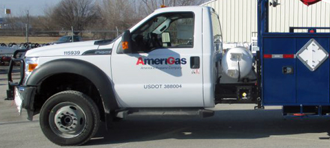 Ford F-450/F-550 gains new LPG tank