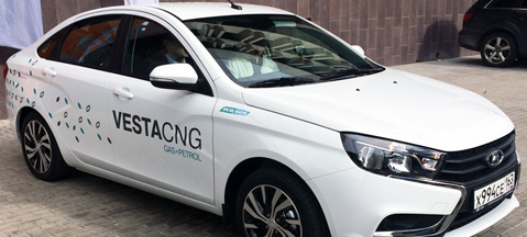 Lada dealers accepting Vesta CNG pre-orders