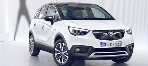 Opel Crossland X - with growth hormone