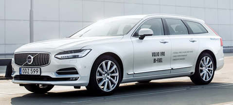 Volvo V90 Bi-Fuel - ode to cleanliness