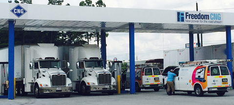 CNG unaffected by Harvey