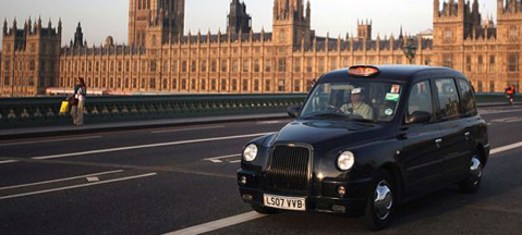 London tests LPG-powered black cabs