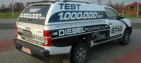 Toyota Hilux diesel-gas - savings and more