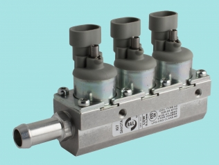Rail IG7 Dakota LPG/CNG injector rail