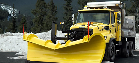 CNG ploughs snow in Canada