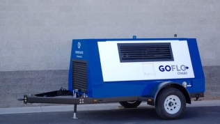 Onboard Dynamics' GoFlo CNG80 mobile CNG compressor