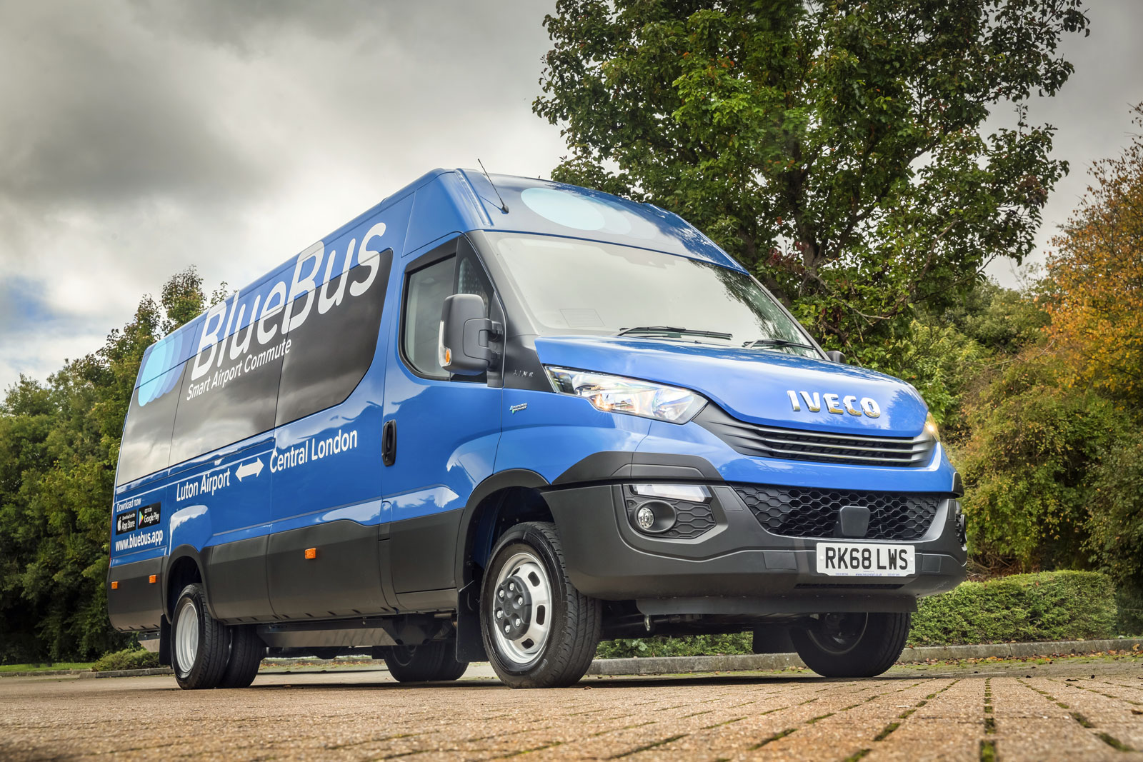 First UK operator becomes to run CNG minibuses