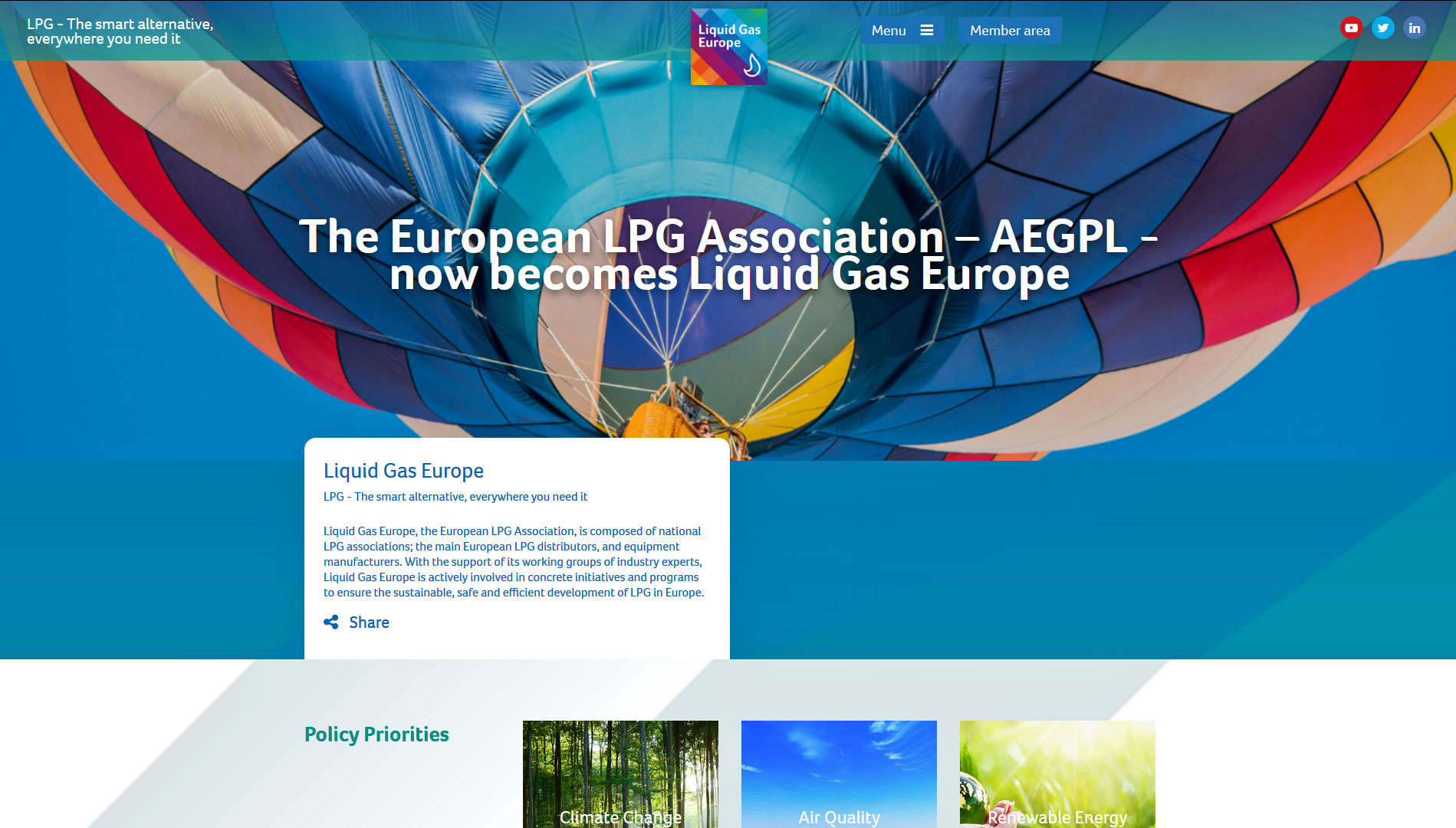 Goodbye AEGPL, welcome Liquid Gas Europe!