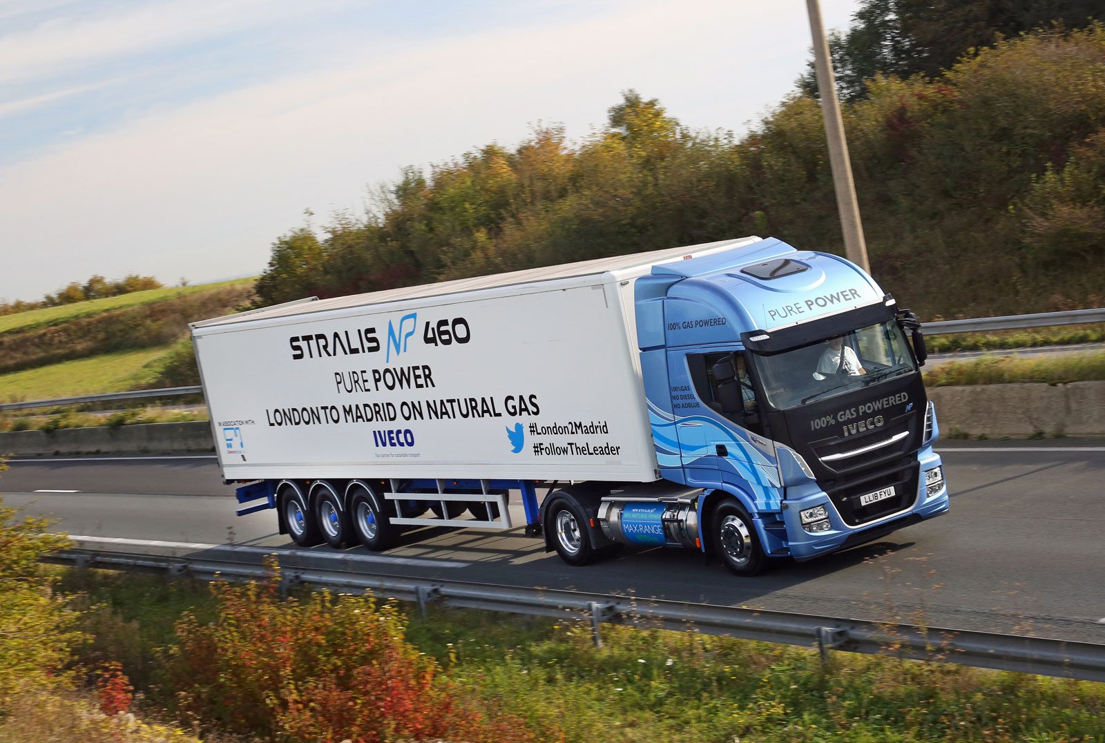 Stralis NP achieves record-breaking distance