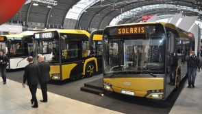 Transexpo 2016 - gas-powered buses