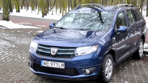 Dacia Logan MCV LPG - much for little
