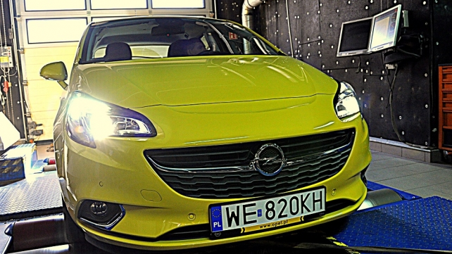 Opel Corsa - LPG becomes her