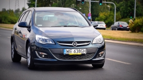 Opel Astra LPG - shines like a beacon