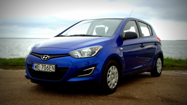 Hyundai i20 LPG - for a fistful of zlotys