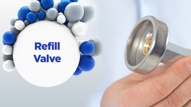LPG - it's easy: Refill Valve