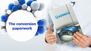 LPG - it's easy: The conversion paperwork