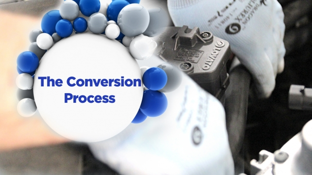 LPG - it's easy: The Conversion Process